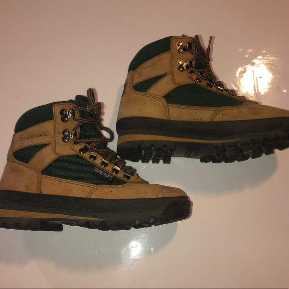 Browning Goretex Hiking Boots Size 75